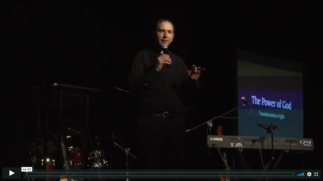 The Power of God – Fr. Mathias Thelen