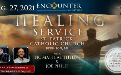 Healing Service – Brighton Aug 27, 2021
